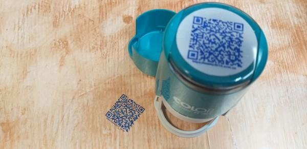 Штамп QR-кода